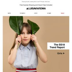 [LUISAVIAROMA] Ready to play? The latest trends for little ones