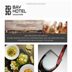 [Bay Hotel] March on with Bay Hotel Singapore