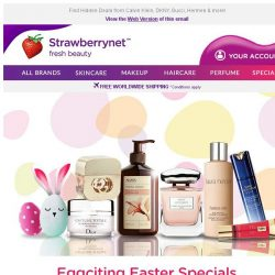 [StrawberryNet] Eggciting Easter Specials Up to 75% Off! Let the HUNT Begin!