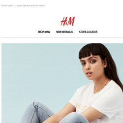 [H&M] The new must-haves from H&M Divided