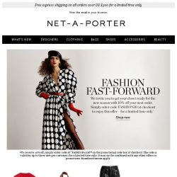 [NET-A-PORTER] 10% off just for you