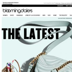 [Bloomingdales] New accessories from Salvatore Ferragamo & more