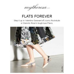 [mytheresa] Shoe addict? Stay one step ahead in Chloé, Gianvito Rossi, Rochas...
