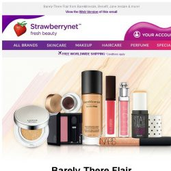 [StrawberryNet] Nude Makeup WINNERS Up to 50% Off