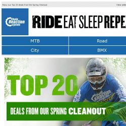 [Chain Reaction Cycles] The Top 20 deals from our Spring Cleanout 🌟