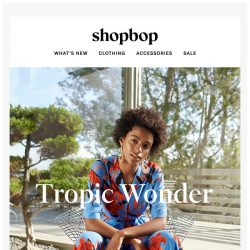 [Shopbop] DVF's latest is a tropical delight