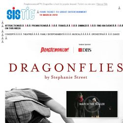 [SISTIC] Pangdemonium's Dragonflies is back by popular demand. Tickets on sale now.