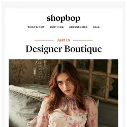 [Shopbop] What's new from our luxury labels