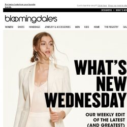 [Bloomingdales] What's New Wednesday for women