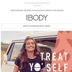 [Cotton On] TREAT YO' SELF | New Sleepwear!