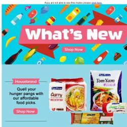 [Fairprice] Discover new products and more!