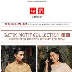 [UNIQLO Singapore] Your must-have collections!
