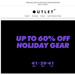 [ASOS] Up to 60% off holiday gear