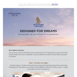 [Singapore Airlines] Introducing the new Boeing 787-10 Dreamliner