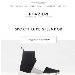 [Forzieri] Sporty Trend: Sneakers, Sandals and Slides, oh my!