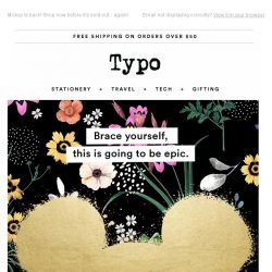 [typo] Online first! Your fave mouse has taken over Typo.