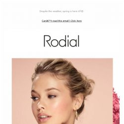 [RODIAL] Spring Skin Has Never Looked So Good
