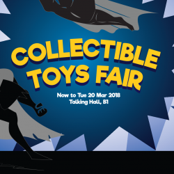 Takashimaya: The Collectible Toy Fair with Up to 70% OFF Harry Potter, Barbie, Gundam, Rilakkuma and Many More Toys!