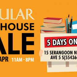 POPULAR: Warehouse Sale with Up to 90% OFF Stationery, Books, Gadgets & IT + Buy 1 Get 1 FREE Assessment Books