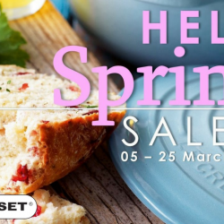 Le Creuset: Spring Sale with 50% OFF Selected Cast Iron Cookware, Stoneware, Silicone Utensils & More