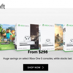 Microsoft Store Singapore: Save Up to $151 on Select Xbox One S Consoles!