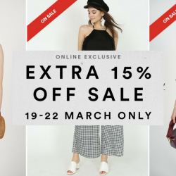 MDS Collections: Mid Season Sale with Up to 80% OFF Selected Items + Extra 15% OFF Sale Items