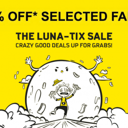 Scoot: The LUNA-TIX Sale with 50% OFF Fares to Phuket, Ho Chi Minh City, Maldives, Boracay & More!