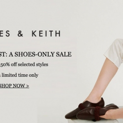 Charles & Keith: A Shoes-Only Sale with Up to 50% OFF Selected Styles Online!
