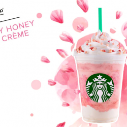 Starbucks: NEW Drink - Strawberry Honey Blossom Creme Frappuccino!
