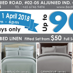 Hallmark: Warehouse Sale with Up to 90% OFF Beddings & Bedlinen