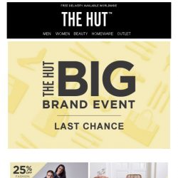 [The Hut] Happy Easter | Celebrate with our exclusive offers...