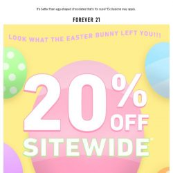 [FOREVER 21] What's inside this surprise Easter egg? 🐣⁉️
