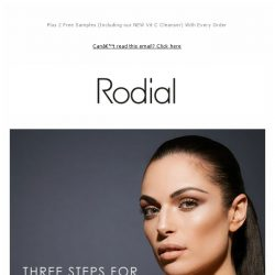 [RODIAL] 3 Easy Steps to Sculpt & Define Your Features