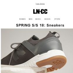 [LN-CC] SPRING S/S 18: Sneakers