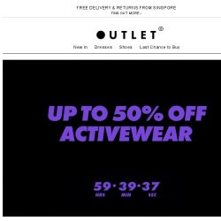 [ASOS] Up to 50% off activewear