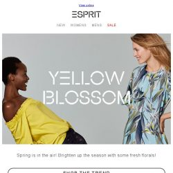 [Esprit] Trend alert! These Spring styles are a must!