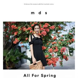 [MDS] All for Spring.