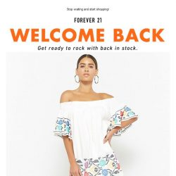 [FOREVER 21] Going fast! Our restock favorites won't be around for long! 😊