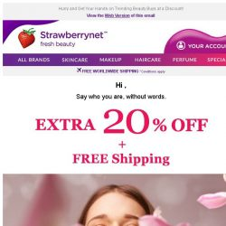 [StrawberryNet] IT'S ALMOST GONE! Only 1 Day Left for 20% Off + Free Shipping