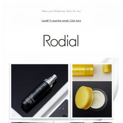 [RODIAL] Are You Using the Best Moisturiser for Your Skin?