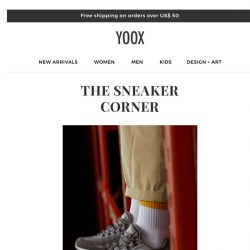 [Yoox] The Sneaker Corner: Guide to cult favorites