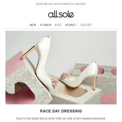 [Allsole] Get Race Day Ready | Free Next Day Delivery