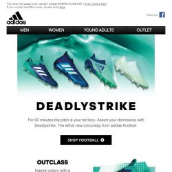 [Adidas] DEADLY STRIKE PACK - The Ruthless Game Changer