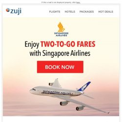 [Zuji] BQ.sg, Two-To-Go Singapore Airlines Flight Offers