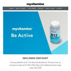 [MyVitamins] HURRY For These Exclusive Discounts!