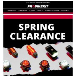 [probikekit] Spring Classics deals: Up to 50% off Accessories!