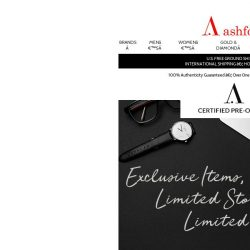 [Ashford] Get it while it's in stock