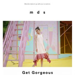 [MDS] Get Gorgeous.