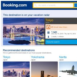 [Booking.com] Awesome news – Tokyo has some last-minute deals!