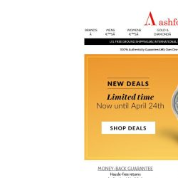 [Ashford] Great Deals Don't Last Forever